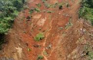 Landslide in Valencia,Bukidnon